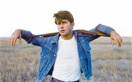 [Martin Sheen as the wild and murderous Kit in Terrence Malickâ·®s 1973 film â·OEBadlands,â·· newly released on DVD by Criterion. (Courtesy of the Criterion Collection)] *** []